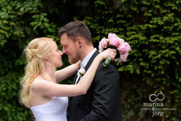 Hochzeitsfotograf Giessen: Paar-Fotoshooting bei einer Hochzeit im Standesamt Gießen