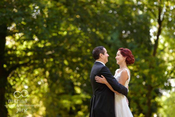 Hochzeitsfotograf Gießen: moderne Paarfotos bei einer Hochzeit im Schloss Buseck in Gießen
