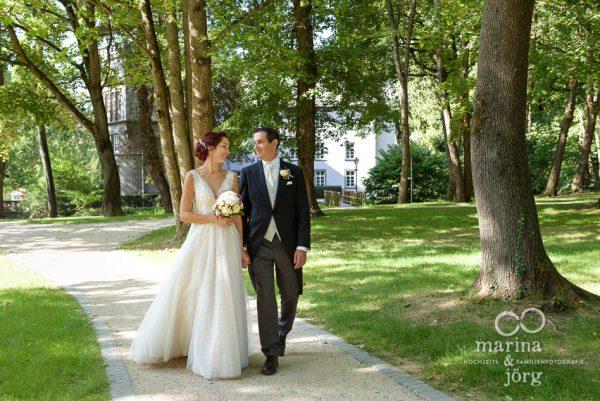 Hochzeitsfotografen Marina & Jörg aus Gießen: Paarshooting bei einer Hochzeit im Schloss Buseck