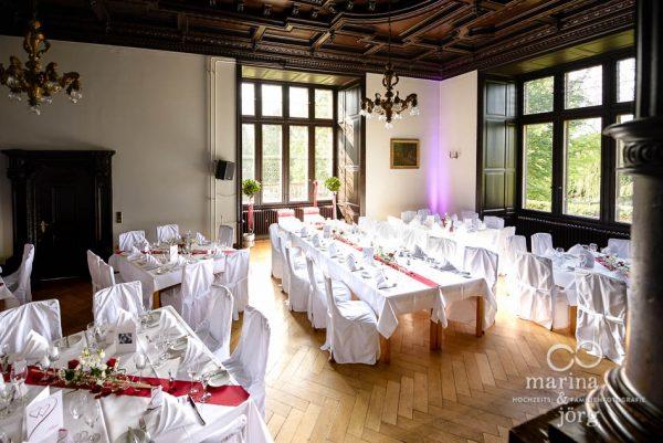 Marina und Joerg, Hochzeitsfotografen aus Giessen: Hochzeitslocation Schloss Rauischholzhausen bei Marburg