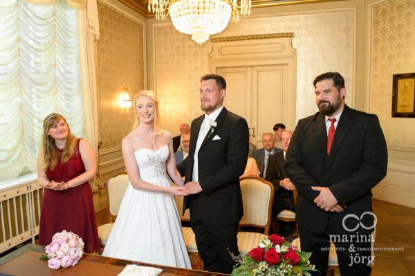 Hochzeitsfotograf Gießen: Trausaal in der Villa Leutert (Standesamt Gießen)
