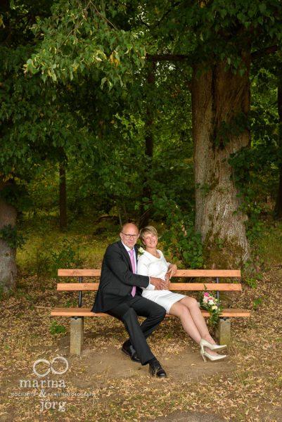Paar-Fotoshooting bei einer Hochzeit in Gladenbach - Hochzeitsfotograf Gladenbach