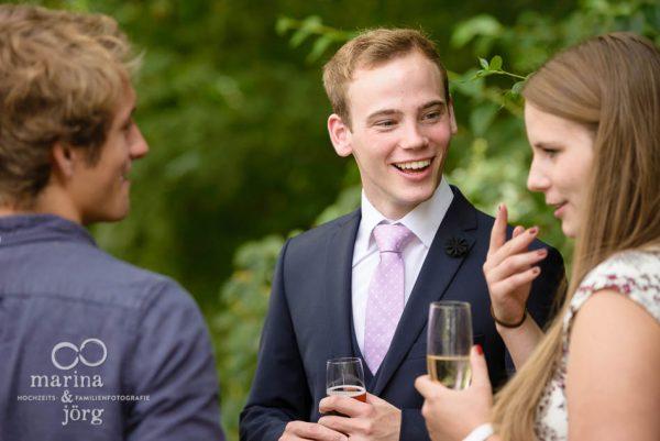 Marina und Joerg, Hochzeitsfotografen Giessen: Momentaufnahme des Braeutigams