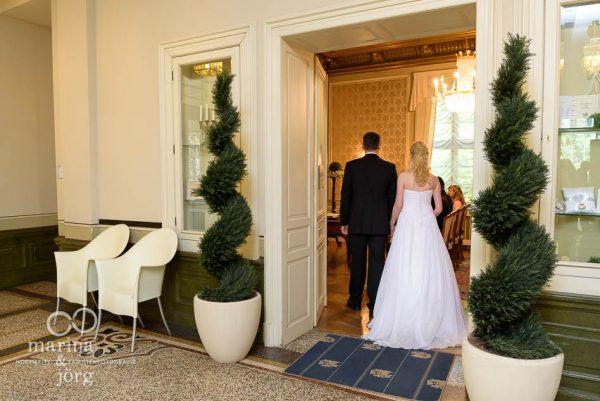 Hochzeitsfotograf Gießen: Hochzeitsreportage im Standesamt (Villa Leutert) in Gießen