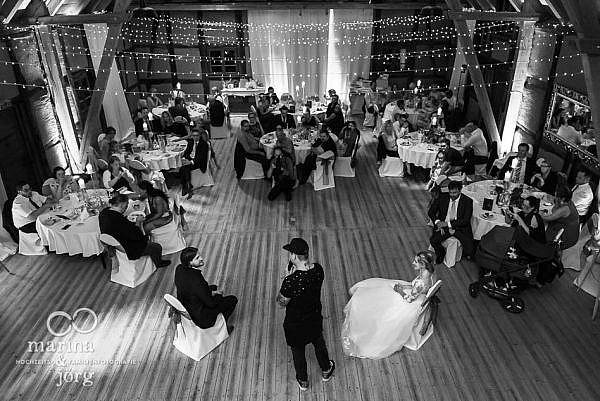 Hochzeitsfeier im Landhotel Waldhaus in Laubach - Hochzeitsfotograf Gießen
