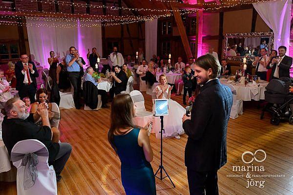 Mit einer Hochzeitsreportage lassen sich all die herzlichen Momente einer Hochzeit für immer festhalten - Hochzeitsfotograf Laubach