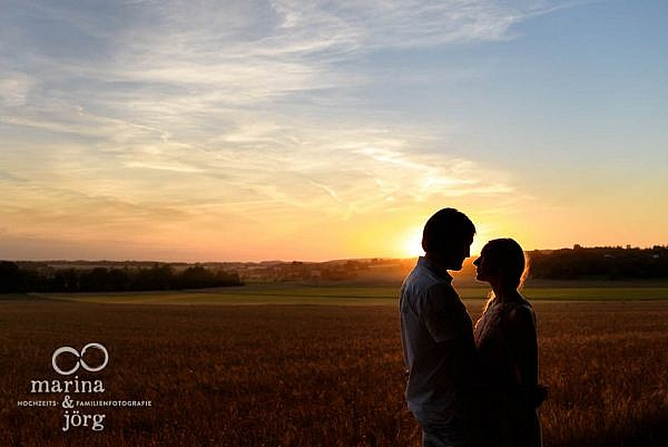 Paarshooting bei Laubach - Engagement Fotoshooting