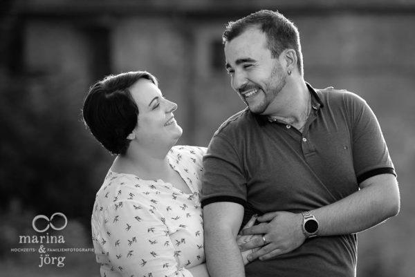 Paar-Fotoshooting in Marburg mit den Hochzeits-Fotografen Marina & Jörg aus Gladenbach