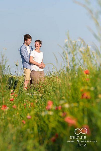Hochzeitsfotograf Marburg: Paar-Fotoshooting vor der Hochzeit - ideal zum Kennenlernen von uns Fotografen
