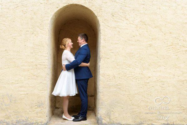 Hochzeit im Standesamt der Burg Rockenberg - After-Wedding Fotoshooting