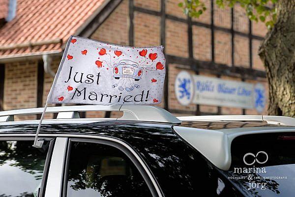 Hochzeit in der Eventscheune Blauer Löwe des Landhotels Waldhaus in Laubach, einer Top-Hochzeitslocation in Gießen und Umgebung - Hochzeitsfotografen Marina & Jörg