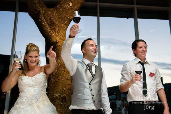 Hochzeitsfotografen-Paar Marina und Joerg aus Giessen: ganztaegige Hochzeitsreportage in der amboz Werk- und Eventhalle, einer der angesagtesten Hochzeits-Locations in der Naehe von Bern
