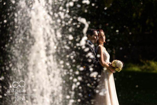 Hochzeits-Fotograf Gießen: Paar-Fotoshooting bei einer Hochzeit im Schloss Buseck
