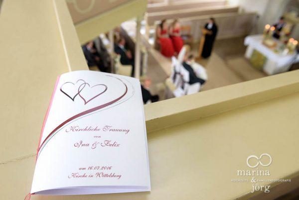 Marina und Joerg, Fotografen-Paar aus Giessen: Reportage der Trauung in der Kirche Wittelsberg