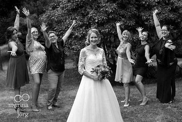 Marina und Jörg, Hochzeitsfotografen Gießen: Gruppenbild
