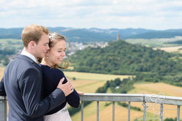 Hochzeitsfotos auf Burg Gleiberg bei Giessen