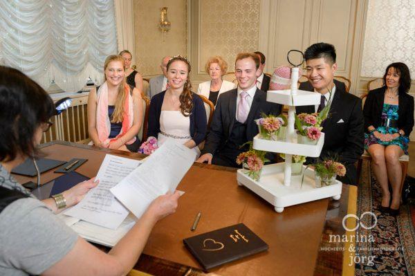 Hochzeit in Giessen: im Standesamt