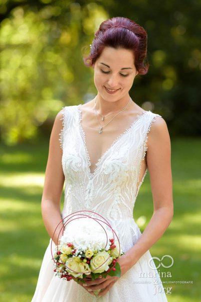 Getting-Ready der Braut bei einer Hochzeitsreportage in Gießen