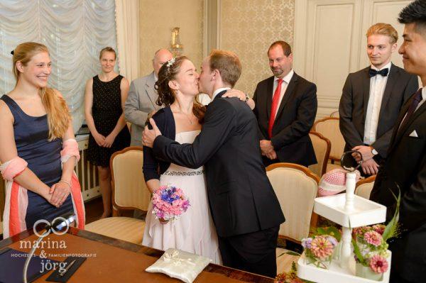 Hochzeitsreportage einer standesamtlichen Trauung in Giessen