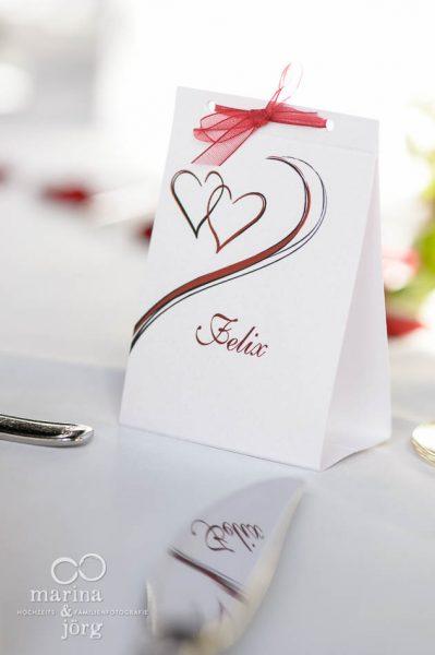Hochzeitsfotos im Reportagestil: Details der Deko