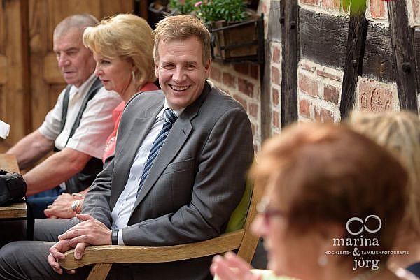 Hochzeit im Landhotel Waldhaus in Laubach - Hochzeitsfotografen Marina und Jörg