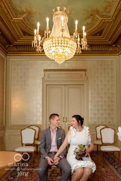 Hochzeitsfotograf Gießen: Paar-Fotoshooting in der Villa Leutert