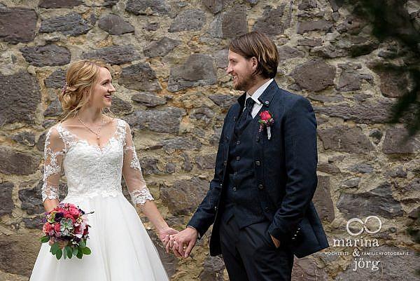 After-Wedding-Shooting im Kloster Arnsburg bei Lich, einer schönen Hochzeitslocations in der Nähe von Gießen