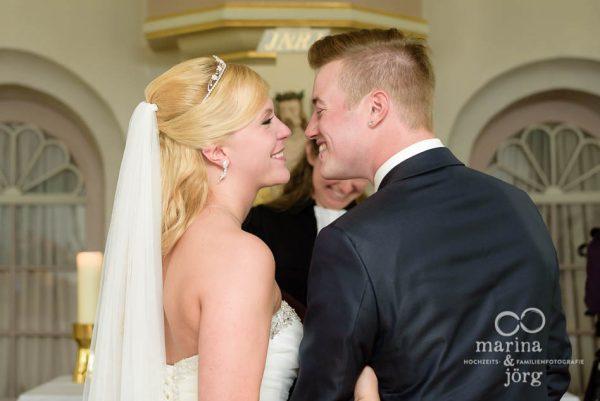 Marina und Joerg, Fotografenpaar Giessen: Hochzeit in der Kirche Wittelsberg