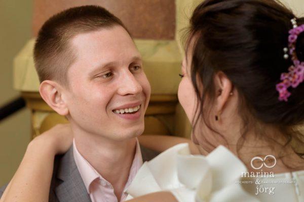 Hochzeit in Gießen: Portrait des Bräutigams