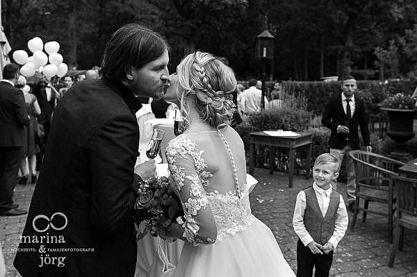 moderne Hochzeitsreportage bei Gießen - Hochzeitsfotografen Marina & Jörg