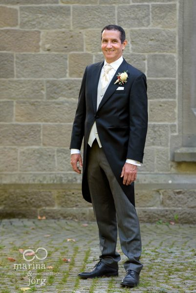 Hochzeitsreportage in Gießen: Portrait des Bräutigams
