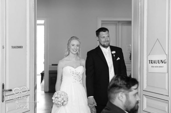 Marina und Jörg, Hochzeitsfotografen aus Gießen: Hochzeitsreportage der standesamtlichen Trauung
