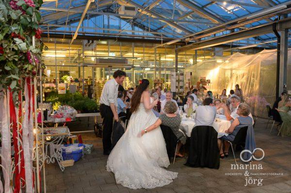Hochzeitsfeier im Gartenhaus Wyss in Ostermundigen bei Bern - Hochzeitsfotograf Gießen