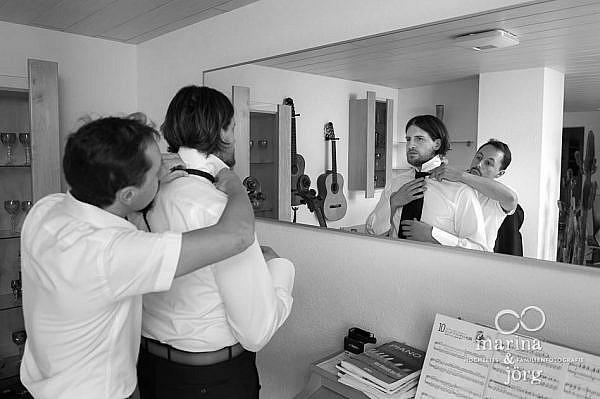 Hochzeitsfotograf Laubach: Hochzeitsreportage in Laubach - Getting-Ready