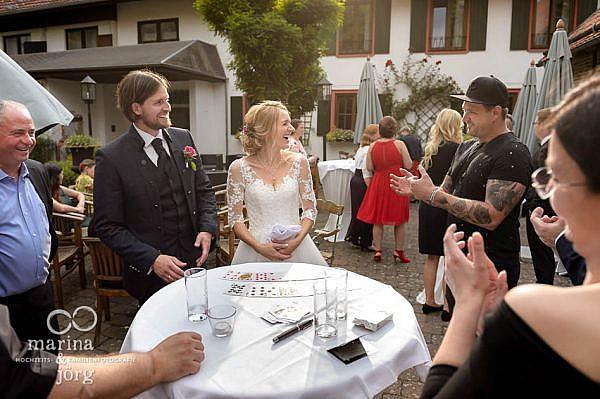 unvergessliche Momente - Magier in der Eventscheune des Landhotel Waldhaus in Laubach