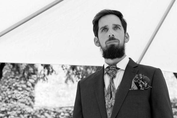 Hochzeitsfotograf Wetzlar: wartender Bräutigam