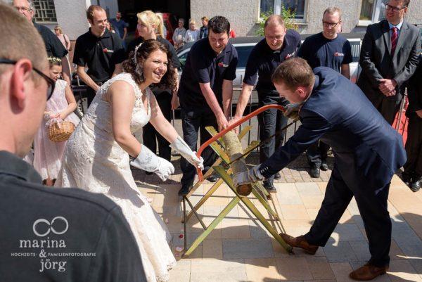 nach einer Hochzeit bei Gießen