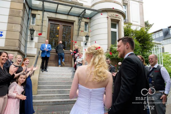Hochzeitsreportage im Standesamt Villa Leutert Gießen