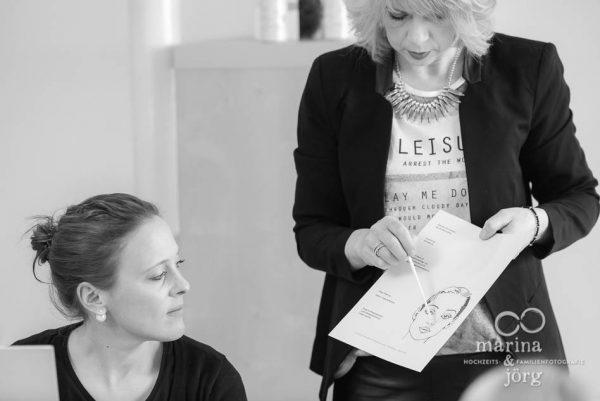 Junggesellinnenabschied mit Make-up-Workshop und Fotoshooting bei Gießen