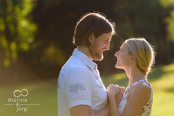 Hochzeitsfotograf Laubach - Kennenlern-Fotoshooting im Schlosspark Laubach