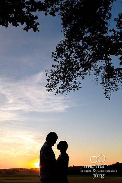 Kennenlern-Fotoshooting vor der Hochzeit - Hochzeitsfotografen für Laubach