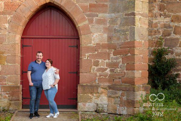 Paar-Fotoshooting mit den Hochzeits-Fotografen Marina & Jörg aus Gladenbach