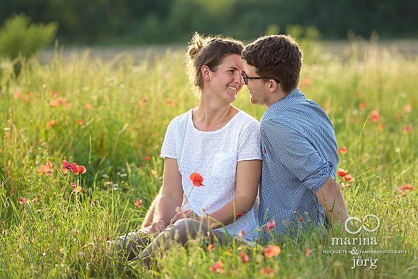 Marina und Jörg - moderne Hochzeitsfotografie Marburg - Engagement-Fotoshooting