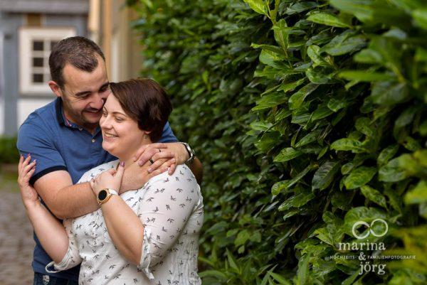 Marina & Jörg - moderne Hochzeitsfotografie Marburg - Engagement-Fotoshooting