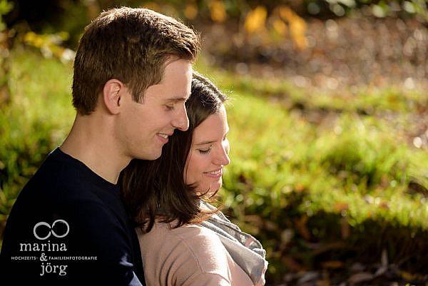 Marina und Jörg - Hochzeitsfotografie: romantisches Paar-Fotoshooting in Marburg