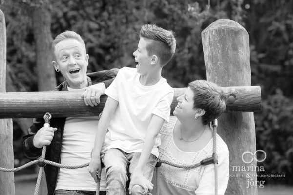 Marina und Joerg, Fotografen Marburg: Witzige Familienbilder