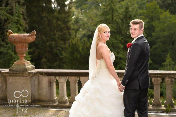 Marina und Joerg, Hochzeitsfotografen Giessen: Hochzeitsfoto vom Brautpaar