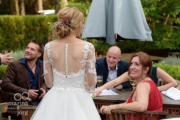 Hochzeitsreportage in der Eventscheune Blauer Löwe des Landhotels Waldhaus in Laubach