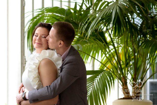 Hochzeitsfotografie Gießen: moderne Paarportraits im Standesamt Gießen