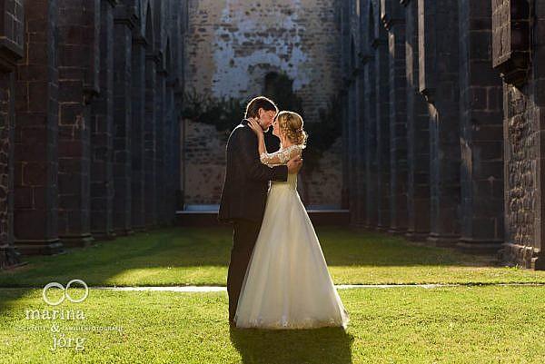 Moderne und berührende Hochzeitsfotos im Raum Gießen - Marina & Jörg, Hochzeitsfotografie - auch verfügbar für das Landhaus Klosterwald